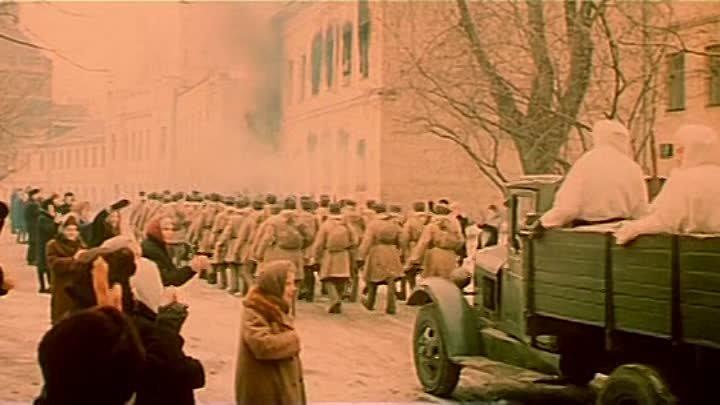 4 Битва за Москву Тайфун Серия 2 из 2 1985