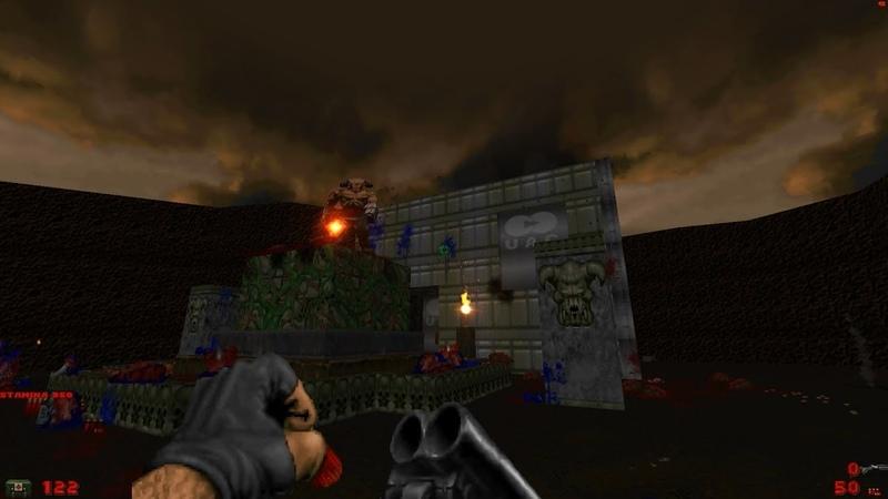 Hell Awakened - Level 6: Surface [Brutal Doom: Black Editon v3.1d]