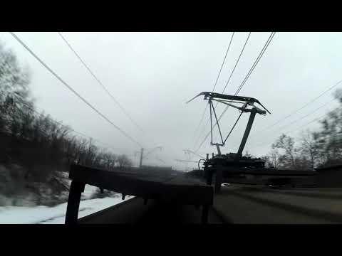Зацеп ЭР2Р 7036 на Восточном направлении Харьков Trainsurfing in Ukraine