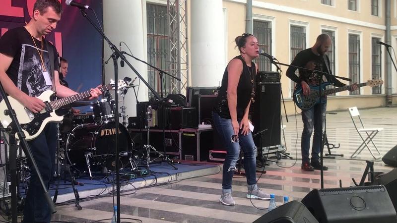 Наталья Рудман и группа BLANSH на фестивале ДЕЛЬТА НЕВЫ 2018