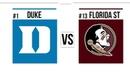 2019 College Basketball #1 Duke vs #13 Florida State Full Game Highlights