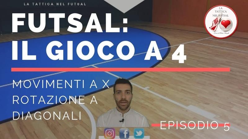 Futsal - Il gioco a 4 [EP.5]: Rotazione a X