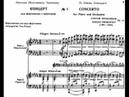 Prokofiev Piano Concerto No 1 in D flat Major Op 10 Kissin