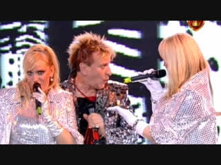 МИРАЖ (Наталия ГУЛЬКИНА и Маргарита СУХАНКИНА) - Yes Sir, I Can Boogie (Волшебный бал С.Пенкина 10.12.2009)