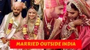 12 Bollywood Celebrity who married Outside India Latest Updates
