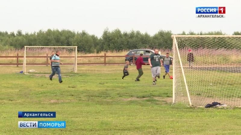 На Краснофлотском в Архангельске прошёл спортивный пикник