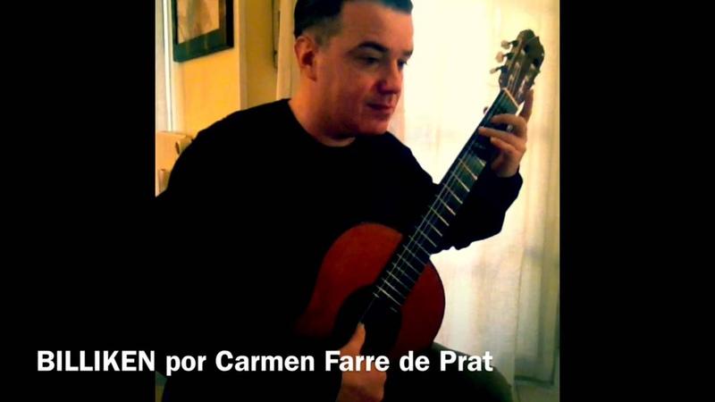 Billiken por Carmen Farre de Prat - Guitar By Jose Ramirez Tradicional 1A (1986)