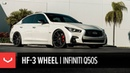 Vossen Hybrid Forged HF-3 Wheel | Infiniti Q50S
