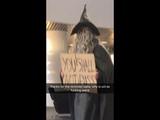 Gandalf at aberdeen uni library