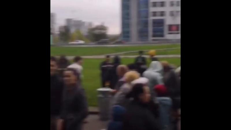 Эвакуация ТЦ Калита