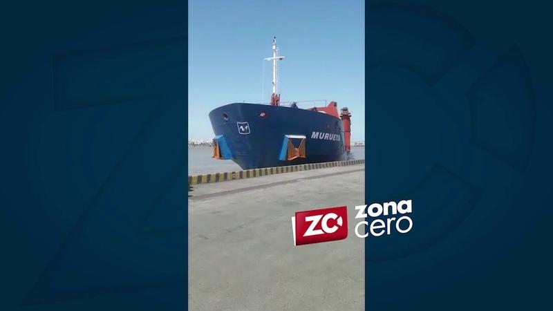 Buque Murueta se estrelló contra el muelle del puerto de Palermo, Magdalena