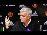 Jose Mourinho has just walked out of the press conference with this