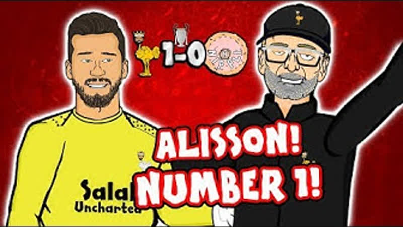 🧤ALISSON - NUMBER 1!🧤 Liverpool vs Napoli 1-0 (Parody Champions League Goal HighlightsAmazing Save