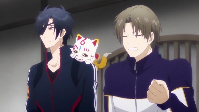 [Anistar] 02 серия - Танец мечей: Цветочный круг/Touken Ranbu: Hanamaru