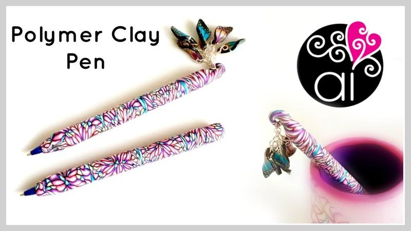 Come rivestire le Penne Bic con il Fimo | DIY Polymer Clay Pen