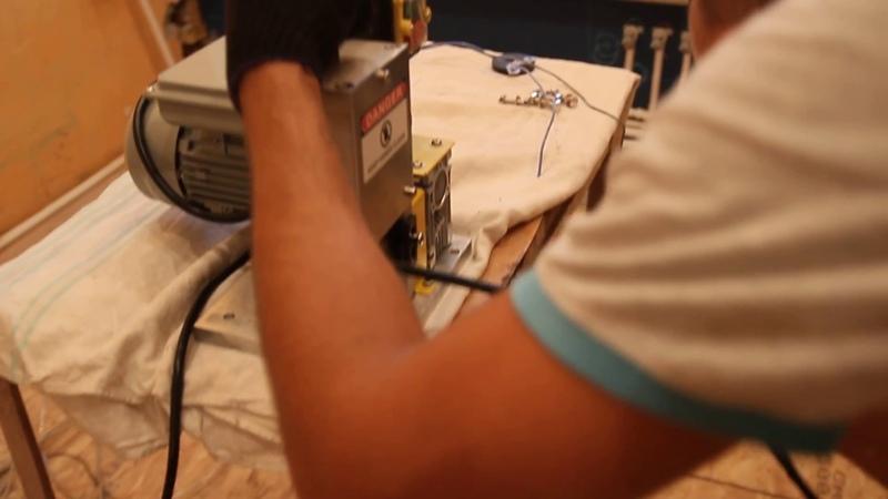Электрический станок для разделки кабеля MS-25 и ввг