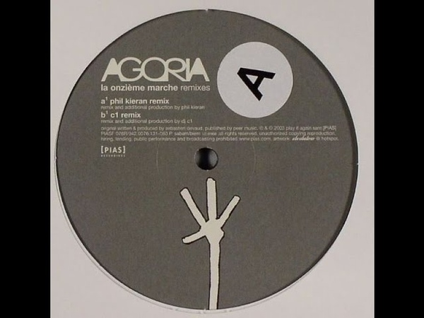 Agoria - La Onzième Marche ( Phil Kieran Remix )