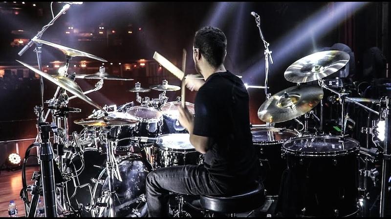 Trivium Drummer is Insane!! (Alex Bent) Improv/Soundcheck 2018