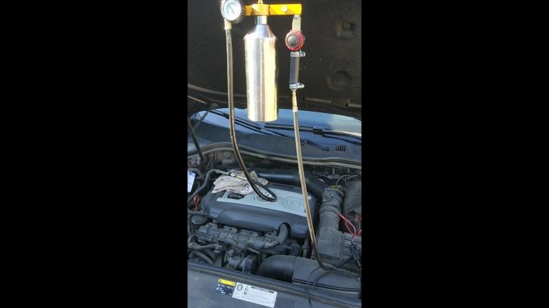 Промывка форсунок/инжектора на пассат б7, 1.8 TSI