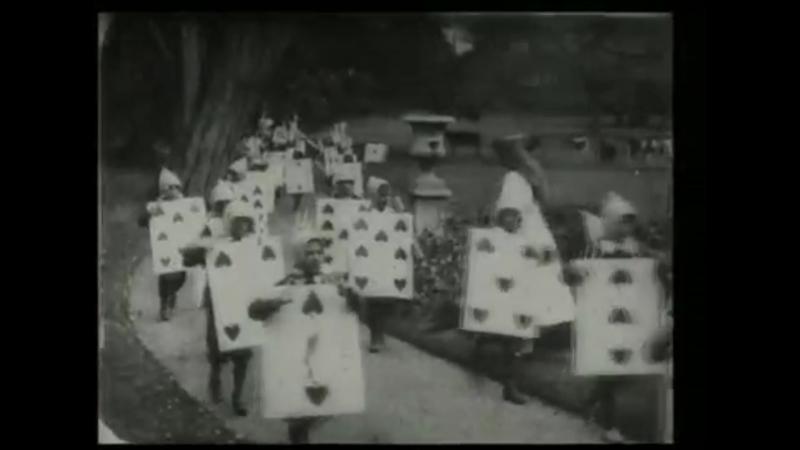 Первая экранизация Алисы в стране чудес 1903 год