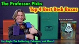 Top 4 Best Deck Boxes For Magic The Gathering, Pokemon, and Standard Sized Trading Card Games