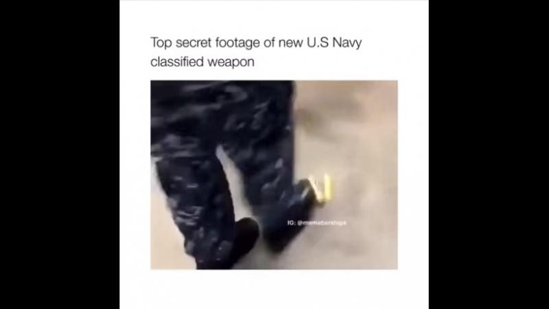 A weapon to surpass metal gear