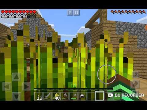 Крипер забрался в мой дом - Minecraft PE