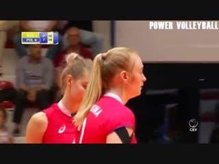 15 Years Old Tatiana Kadochkina - Amazing Volleyball Player (HD)