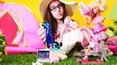 Barbie kampa gidiyor! Eğlenceli kız oyunları