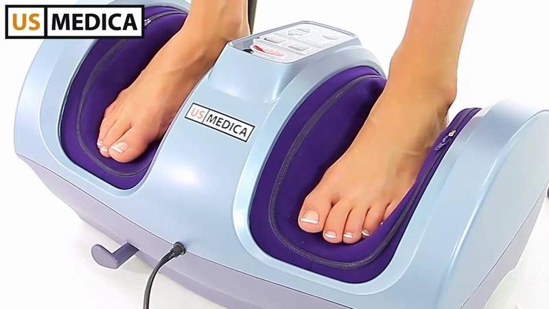 Роликовый массажер для ног US MEDICA Angel Feet
