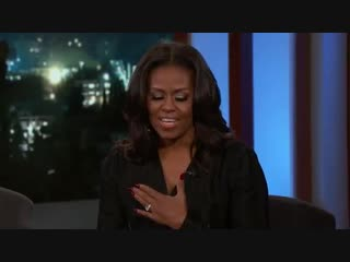 Jimmy Kimmel gets Michelle Obama to say things she couldn't say as First Lady