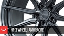 Vossen Hybrid Forged HF-3 Wheel | Anthracite Custom Finish