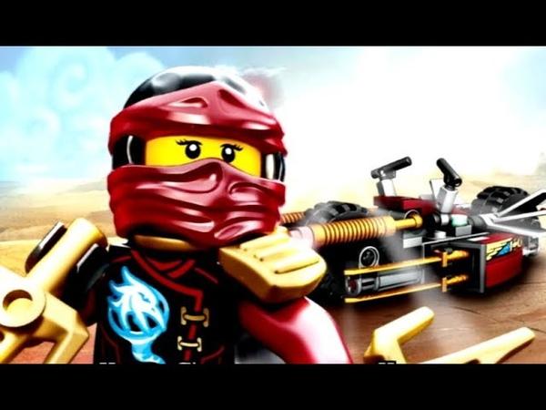 Ниндзяго Скайбаунд Мотоцикл Кая 7 серия Прохождение игры лего по мультику о ниндзя LEGO Ninjago S