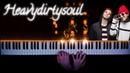 Twenty one pilots Heavydirtysoul piano version tutorial how to play