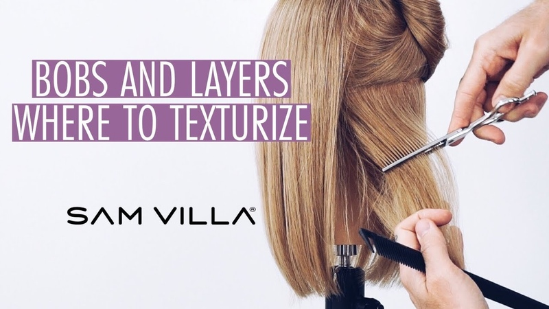 Where to Texturize Bobs and Layers