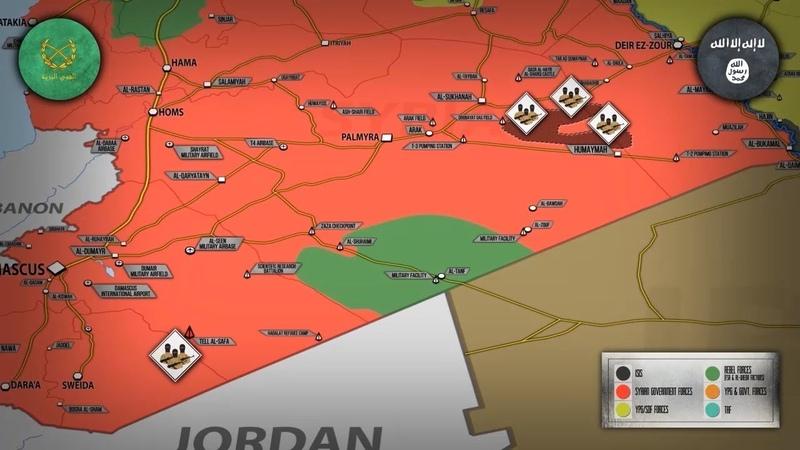 3 4 декабря 2018 Военная обстановка в Сирии Россия заявила о ликвидации 270 игиловцев на юге Сирии