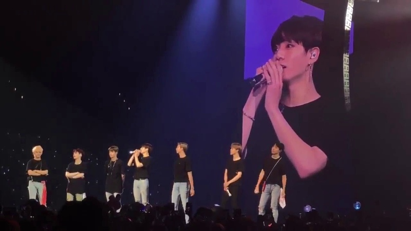[FULL] BTS HQ Ending Ment - RM said he Found 18,000 Answers because of this ~~ 😭😭😭 BTSinLA_Day4