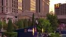 Прыжок через фонтан знаменитого казино Сизарс-Палас , Трэвис Пастран · coub, коуб