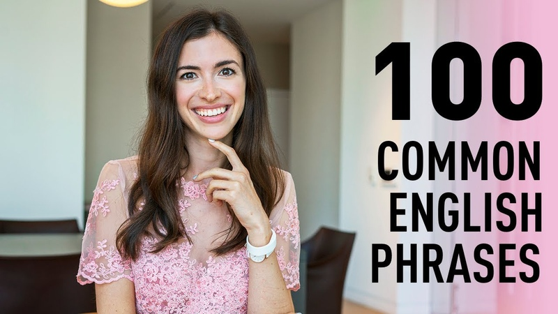 LEARN 100 COMMON PHRASES IN ENGLISH IN 20 MINUTES