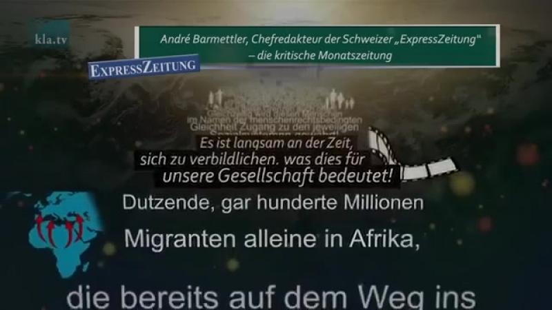 «Globaler Pakt für Migration» – Schwarz auf Weiss