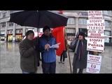 staatenlos info Пикет в ФРГ Кёльн организации люди без гражданства 20 ого января 2018 года