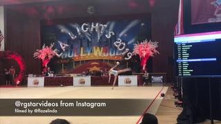 Alina Harnasko ball - LA Lights 2019