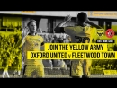 Sky Bet League 1 2018-19 | 11.08.18 | Oxford United - Fleetwood Town