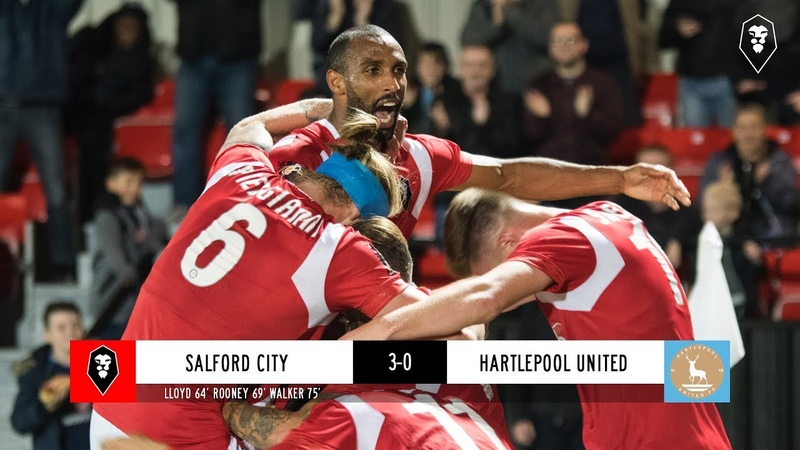 Salford City 3-0 Hartlepool United - National League 25/09/2018
