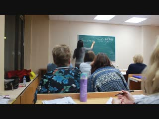 English at MGIMO for silver volunteers. The sixth lesson. 31.10.2018