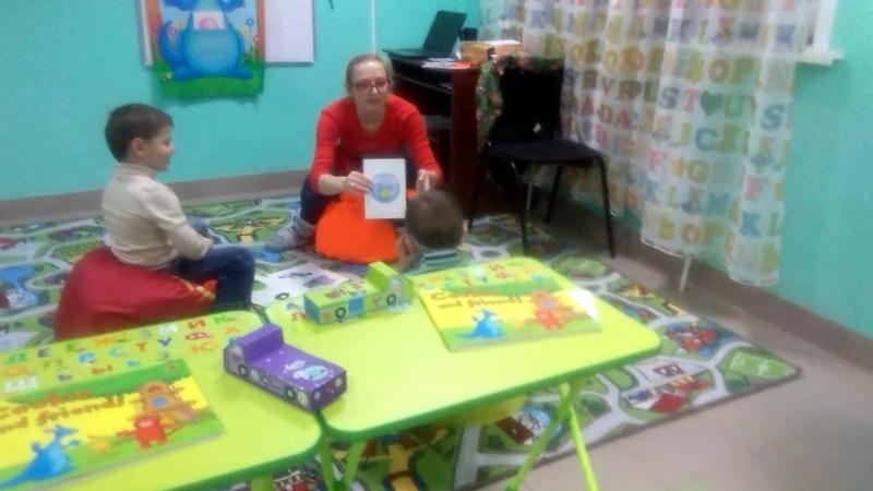 Английский для дошкольников в Языковом центре Глаголь