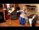 Birthday Party Performance Belly Dancer Ottawa Lark Belly dance tutorial