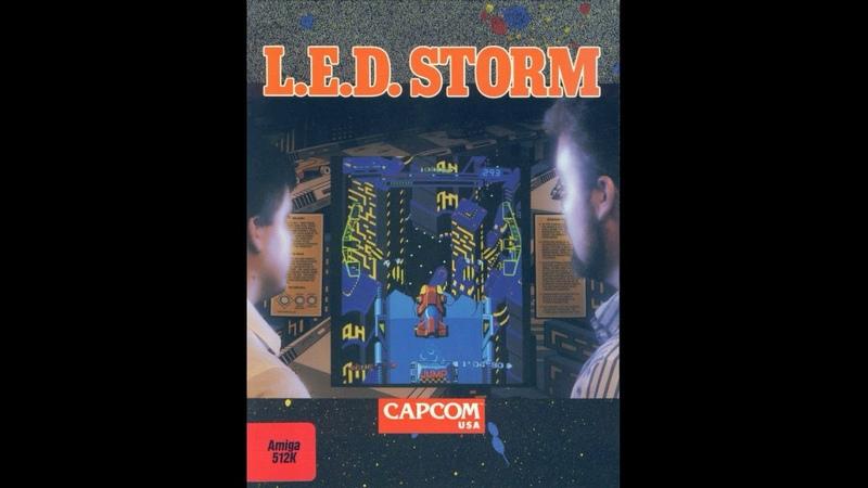 Old School {Amiga} L E D Storm ! FULL OST SOUNDTRACK