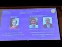 Лауреатами Нобелевской премии по химии 2018 стали Фрэнсис Арнольд, Джордж Смит и Грегори Винтер…