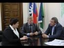 Василий Филипенко встретился с руководством города Урая